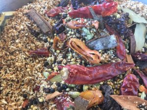 Spice mix with chillies